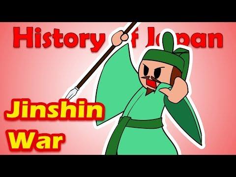 The Jinshin War | History of Japan 23