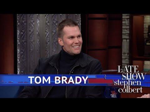 Tom Brady Chugs A Beer In One Gulp
