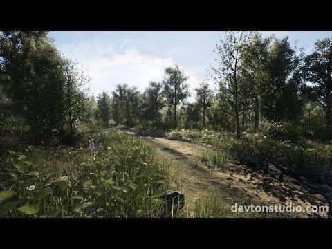 UE4 - DevTon Spring Landscape [Marketplace]