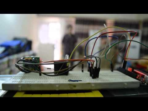 pir sensor with arduino by Murtadha Ali  at fikra space