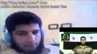 18+ not for shock! EXCLUSIVE Free Syrian Army..Salafi dreams pt.1 the general's goats