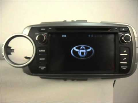 Android Auto Dvd System For Toyota Yaris 2012 2014 Car Gps