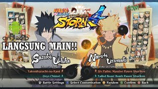 CARA DOWNLOAD DI ANDROID GAME NARUTO SHIPPUDEN ULTIMATE NINJA STORM 4 (Mod PPSSPP)