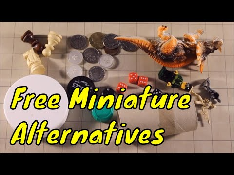 Free Alternatives To Miniatures (D&D Or Pathfinder)