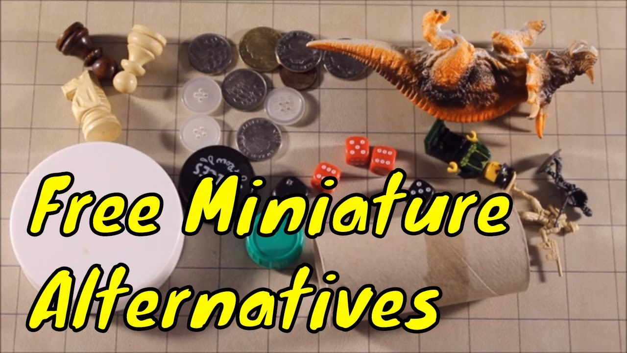 Where to buy cheap Official D&D miniatures. - YouTube