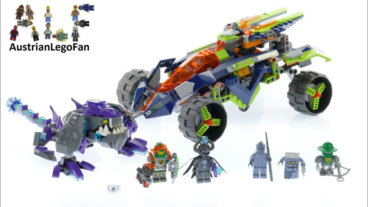 Lego Nex Knights Aaron/'s Rock Climber 70355