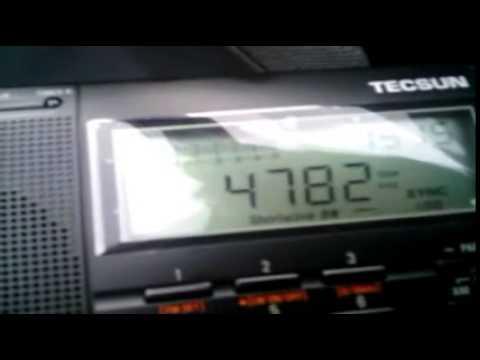 Radio Djibouti, 4780 kHz, 08/04/2014
