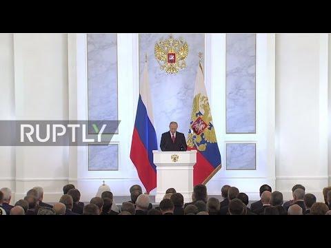 Russia: Putin touts Russia