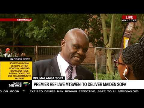 Mpumalanga SOPA | Premier Refilwe Mtsweni to deliver maiden SOPA