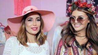 Jana Ina Zarrella testet den Hippie-Look