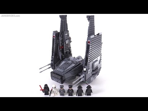 Lego Star Wars Kylo Rens Command Shuttle Review 75104 Youtube