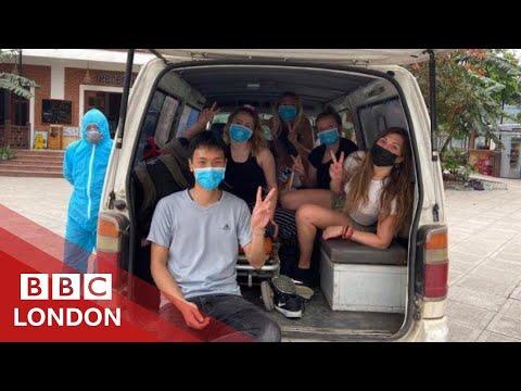 Coronavirus: Isolated In A Vietnamese Military Base - BBC London