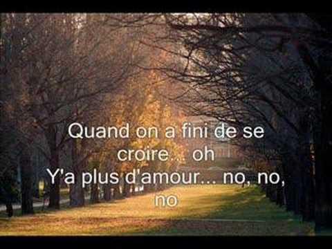 Download Larusso- ON NE S'AIMERA PLUS JAMAIS with lyrics