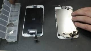 iPhone 6 разбор и замена дисплейного модуля экрана, стекла, тачскрина