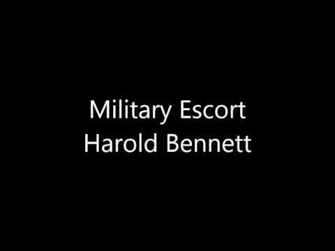 Military Escort by Harold Bennett