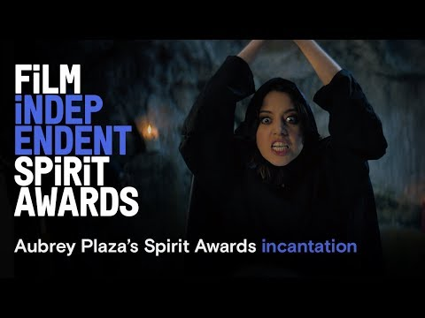 Aubrey Plaza's Incantation - cold open | 2019 Film Independent Spirit Awards