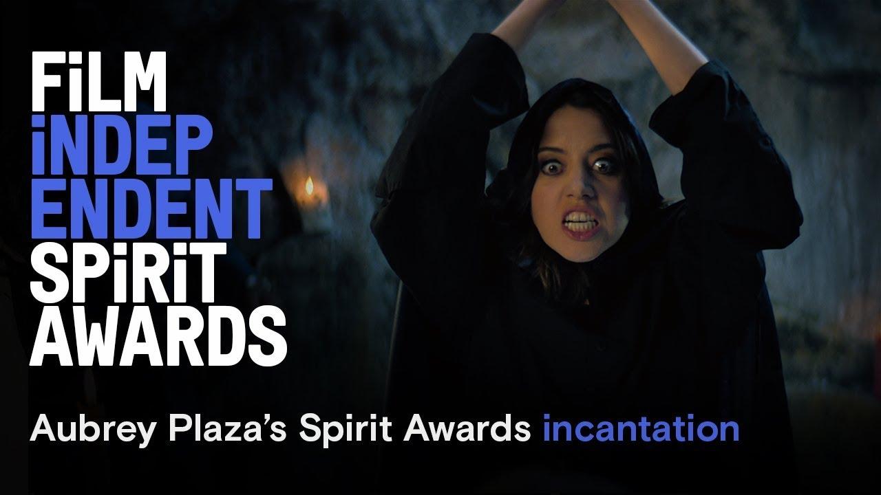 Aubrey Plaza's Incantation - cold open | 2019 Film Independent Spirit Awards