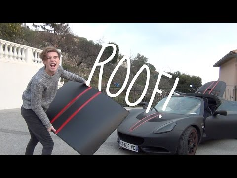 HOW TO REMOVE THE ROOF OF A LOTUS ELISE