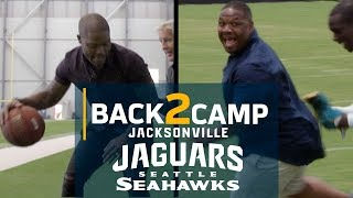 Inside Seahawks & Jaguars Camp with MJD & Michael Robinson | Back 2 Camp | NFL Network