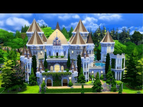 The Sims 4 || Speed Build || Eaton Palace