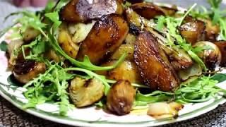 Картофель запеченный с бальзамическим уксусом Не обычный и вкусный вариант.