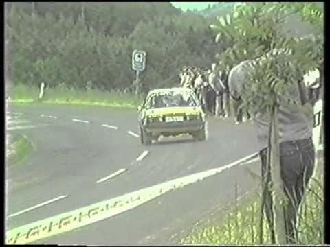 ADAC Hessen Rallye 1983 präsentiert von Stehr