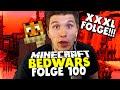 67 Minuten Bedwars! Xxxl Special - Meine Besten Runden! ✪ Minecraft Bedwars Woche Tag 100 video