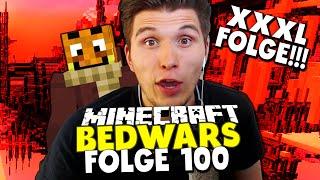 67 MINUTEN BEDWARS! XXXL SPECIAL - MEINE BESTEN RUNDEN! ✪ Minecraft Bedwars Woche Tag 100