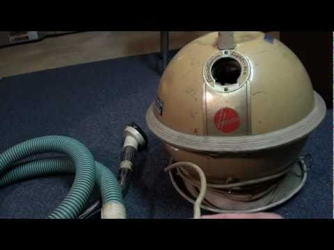 Hoover Constellation Vacuum Cleaner Running On 9 Volt