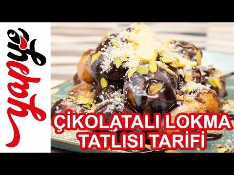 Çikolatalı Dolgulu Lokma Tatlısı Tarifi, Nasıl Yapılır?
