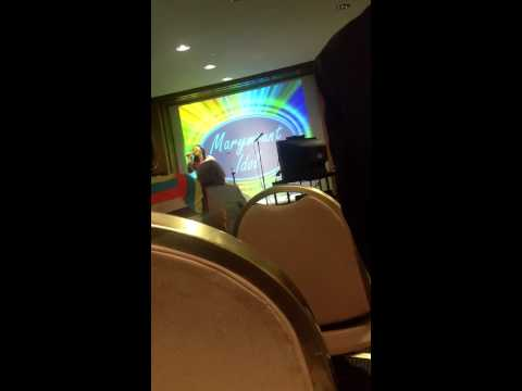 """Cleveland Clinic Marymount Idol Contest Final Round: """"Greatest Love of All""""."""