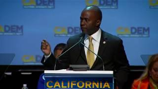 Tony Thurmond's Powerful Speech to Win the CA Democratic Party Endorsement