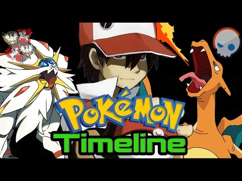 The Pokémon Timeline With Sun and Moon  Ft Gnoggin