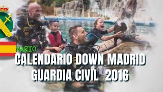 Making Of Calendario Down Madrid-Guardia Civil 2016