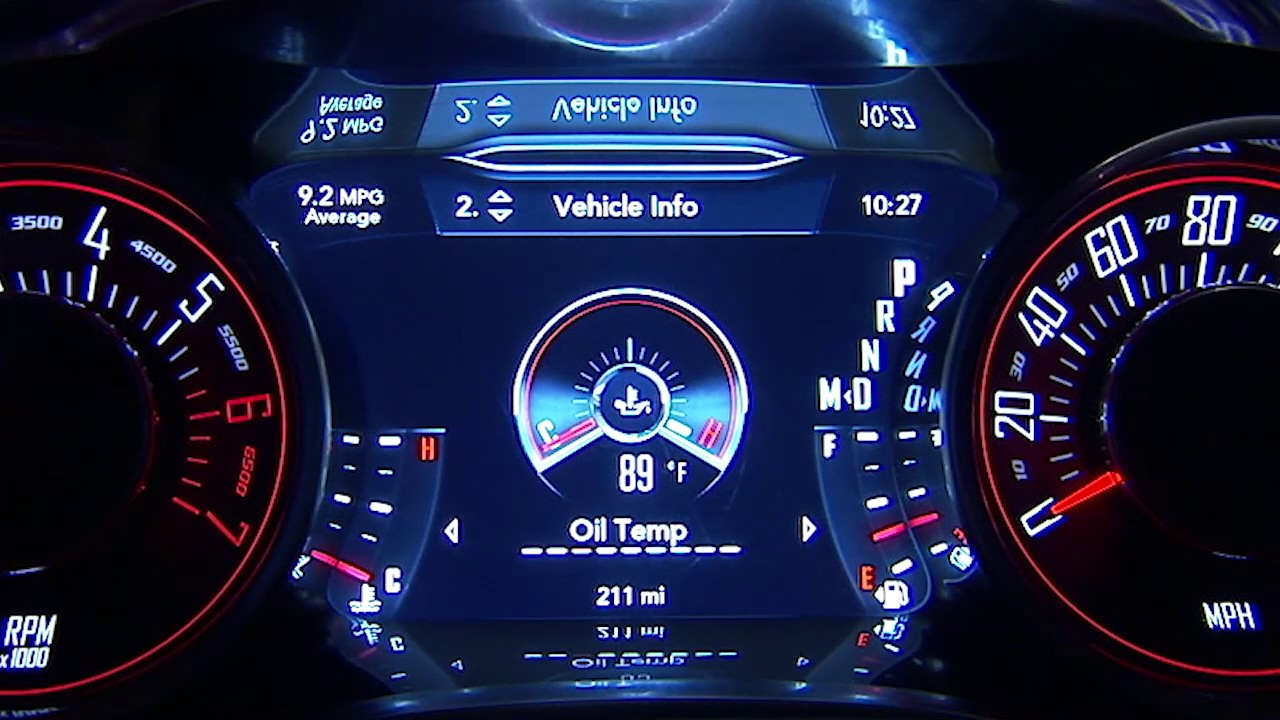 Instrument Cluster Display-Digital dashboard on the car ...