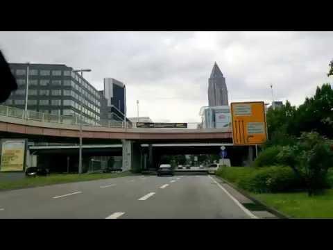 Frankfurt City 🌆 ▶  Drive In 🔀