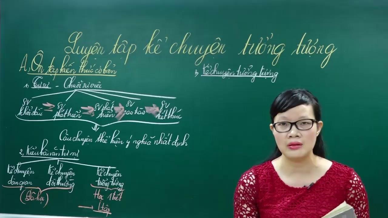 Ngữ Văn Lớp 6 –Bài giảng Kể chuyện tưởng tượng|Rèn kĩ năng làm văn tự sự |Cô Lê Hạnh