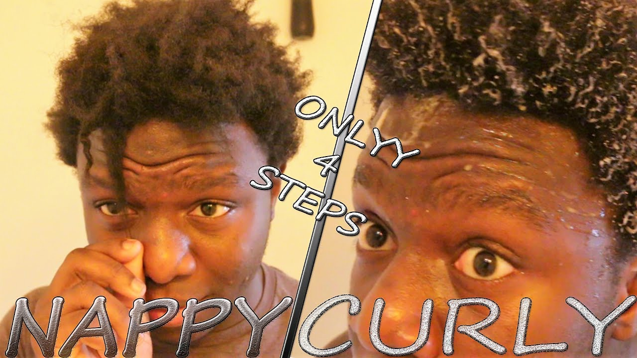Easiest Way To Go From Nappy To Curly Hair Easy 4 Step