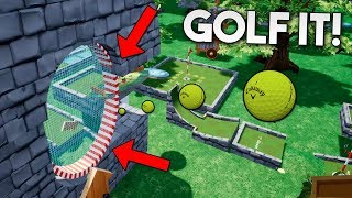 HOYOS ESCONDIDOS! SI LOS VES GANAS! Golf It!