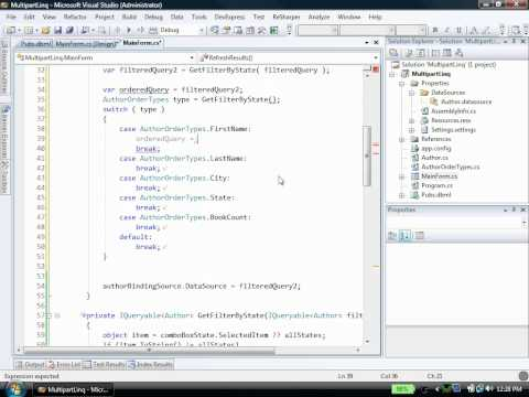 Dynamic Data Access with LINQ - YouTube