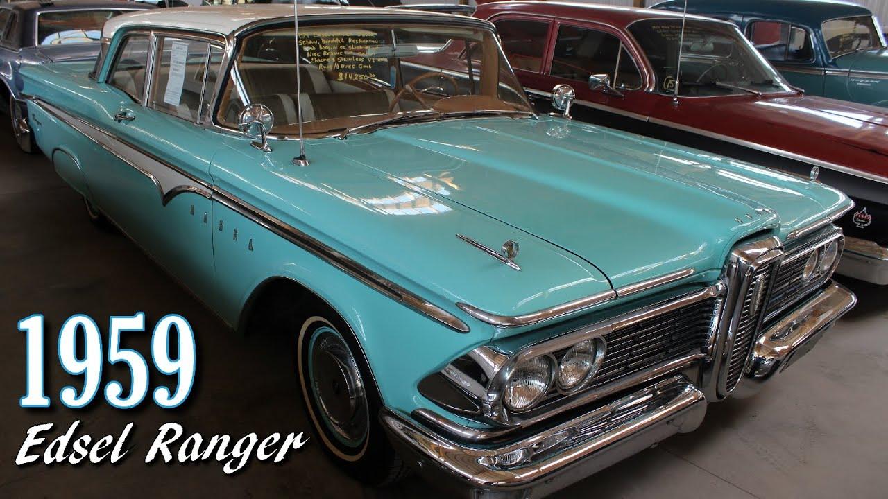 1959 Edsel Ranger 292 Y Block V8