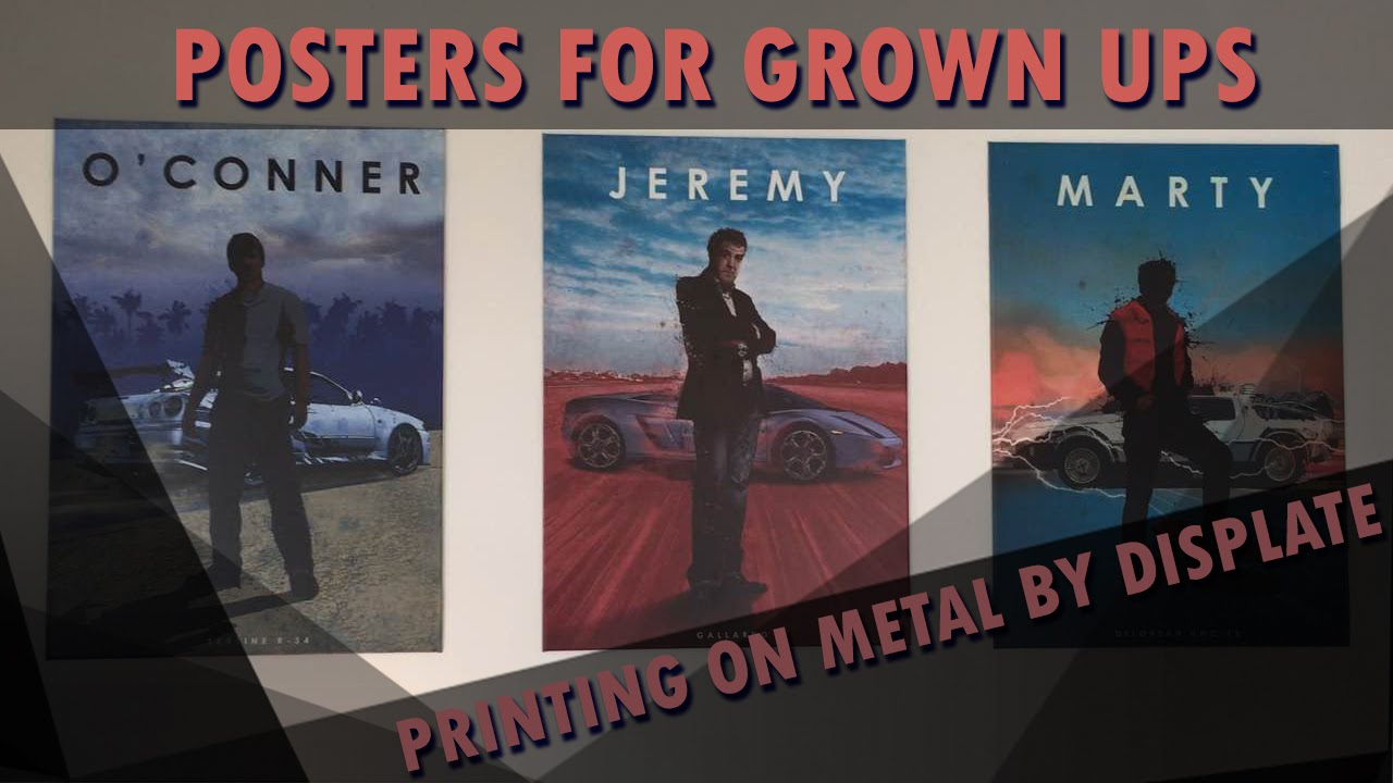 Printing On Metal by Displate - Awesome Posters for Awesome People
