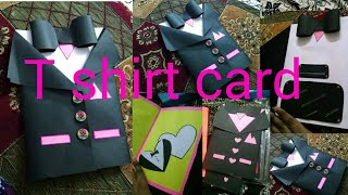 Handmade suit jacket/tuxedo birthday card/...how to make a father day card/birthday card...