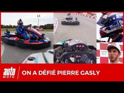 J'ai défié Pierre Gasly sur un kart (et le résultat ne va pas vous surprendre)
