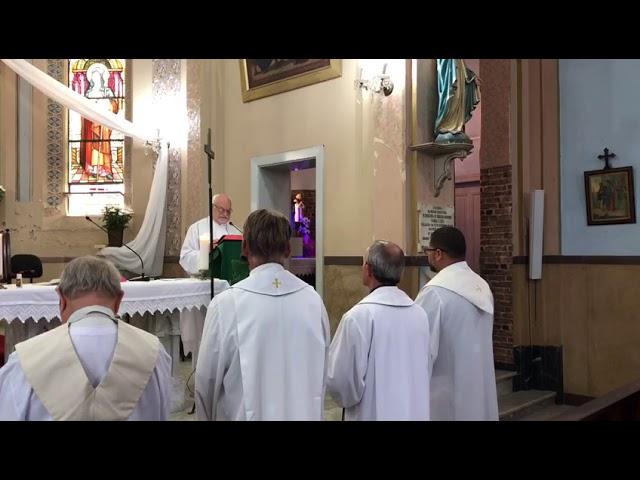 Pronunciamento do Pe. Xiko na posse da nova coordenação Movimento de Cursilhos de Cristandade 2