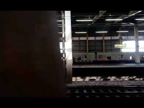 Shinkansen from Tokyo to Gala Yuzawa Japan Jan/Feb 2018