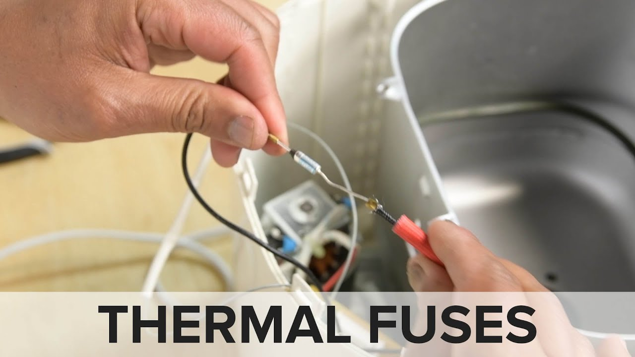 How To Replace Thermal Fuses Repair Tips From The Fixit Clinic Youtube