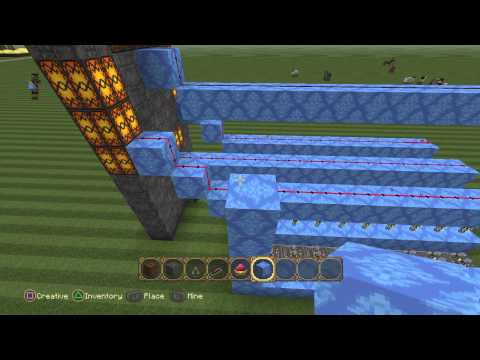 Minecraft Playstation4 How To Make Redstone Clock Part