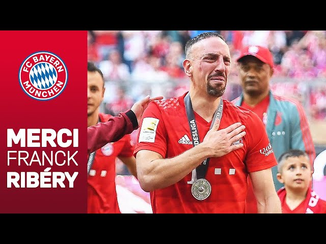 Franck Ribéry's Emotional Goodbye at FC Bayern