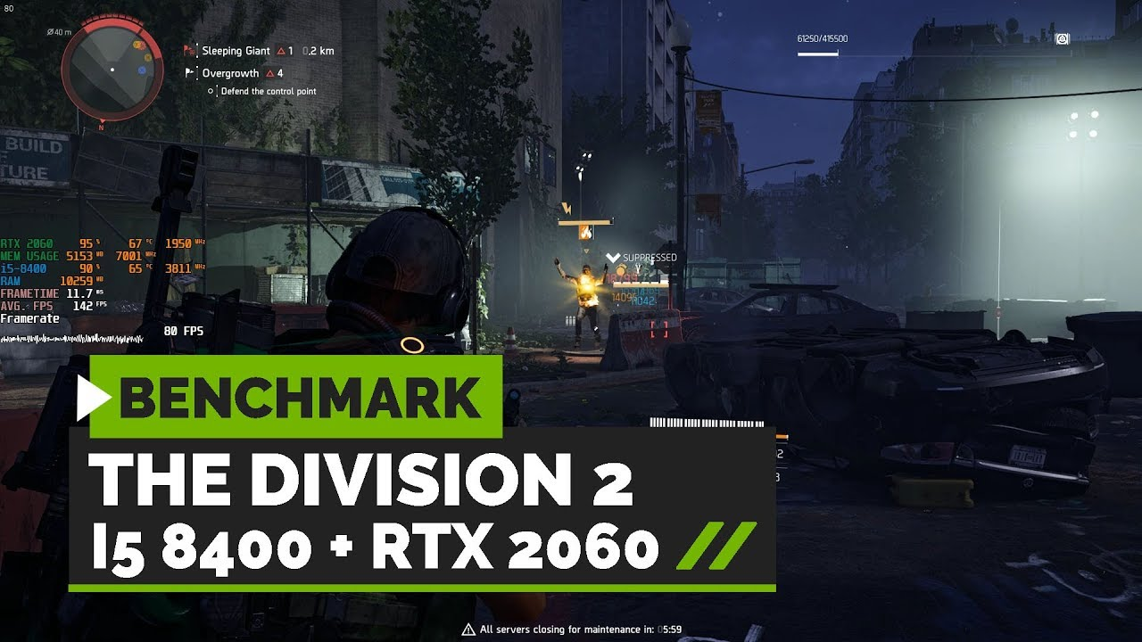 The Division 2 : Optimal Settings   RTX 2060 + i5 8400